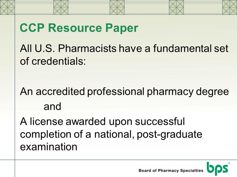 CCP Resource Paper
