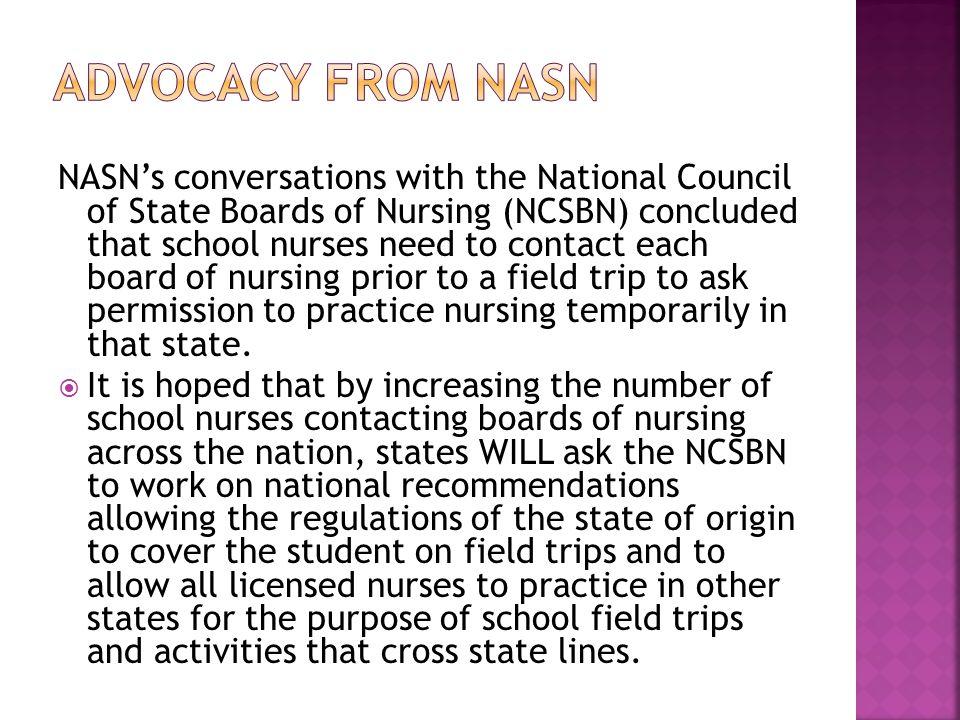 Advocacy from NASN