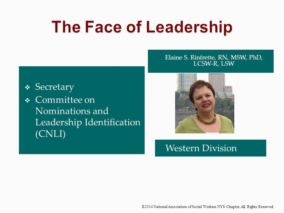 Elaine S. Rinfrette, RN, MSW, PhD, LCSW-R, LSW