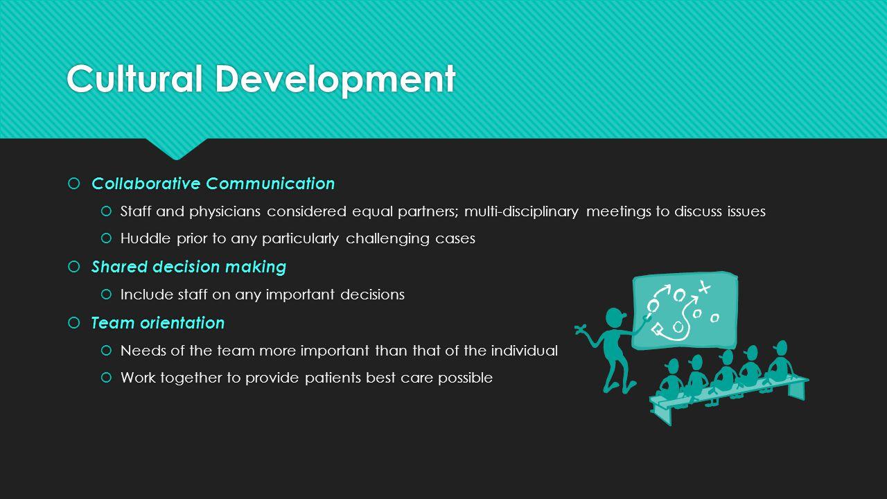 Cultural Development Collaborative Communication
