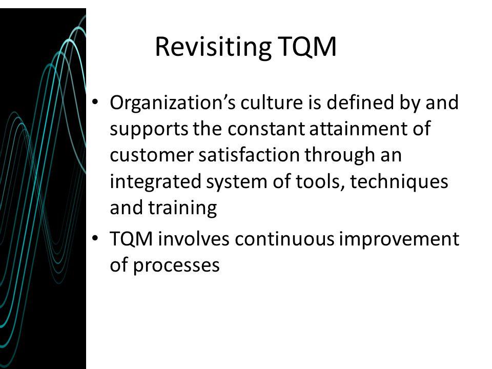 Revisiting TQM