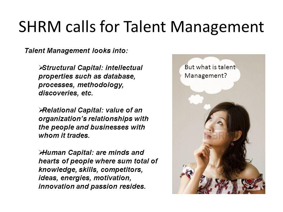SHRM calls for Talent Management