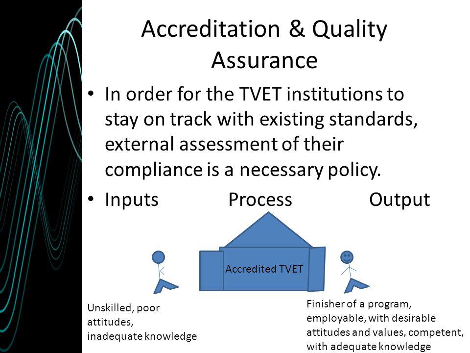 Accreditation & Quality Assurance