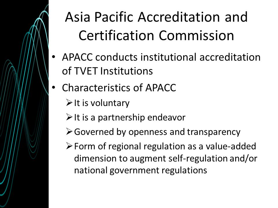Asia Pacific Accreditation and Certification Commission