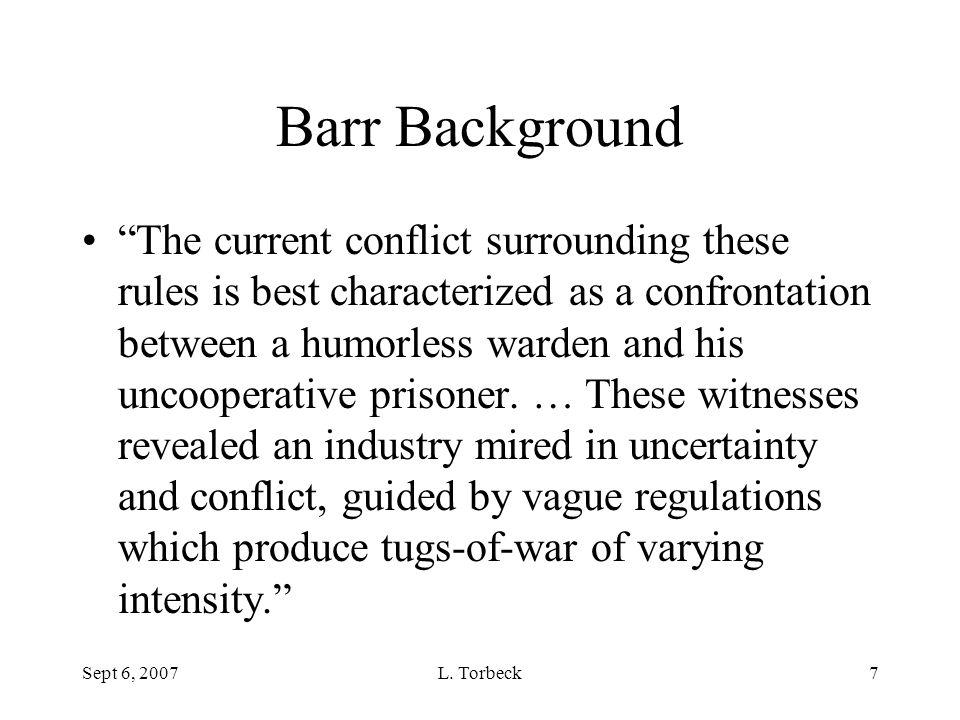 Barr Background