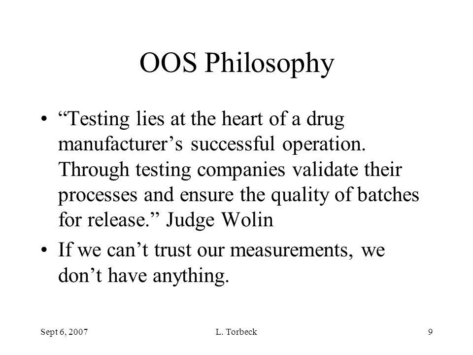 OOS Philosophy