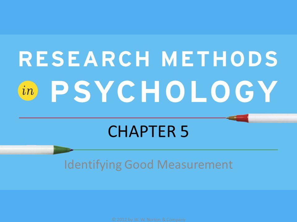Identifying Good Measurement