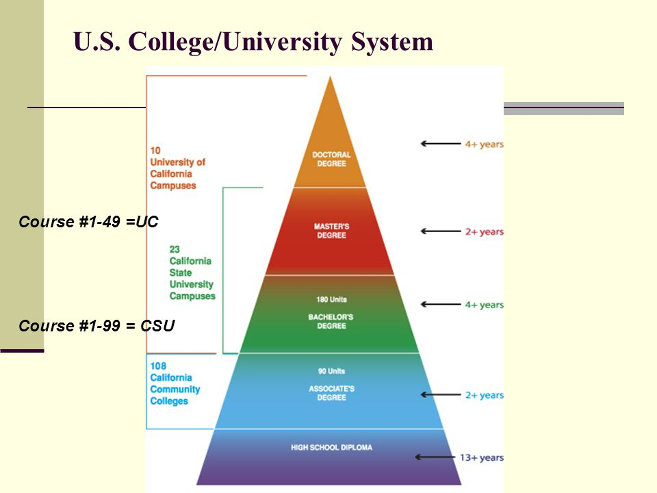 U.S. College/University System