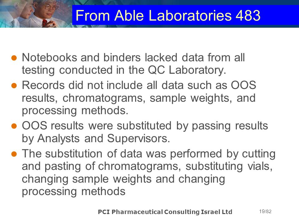 From Able Laboratories 483