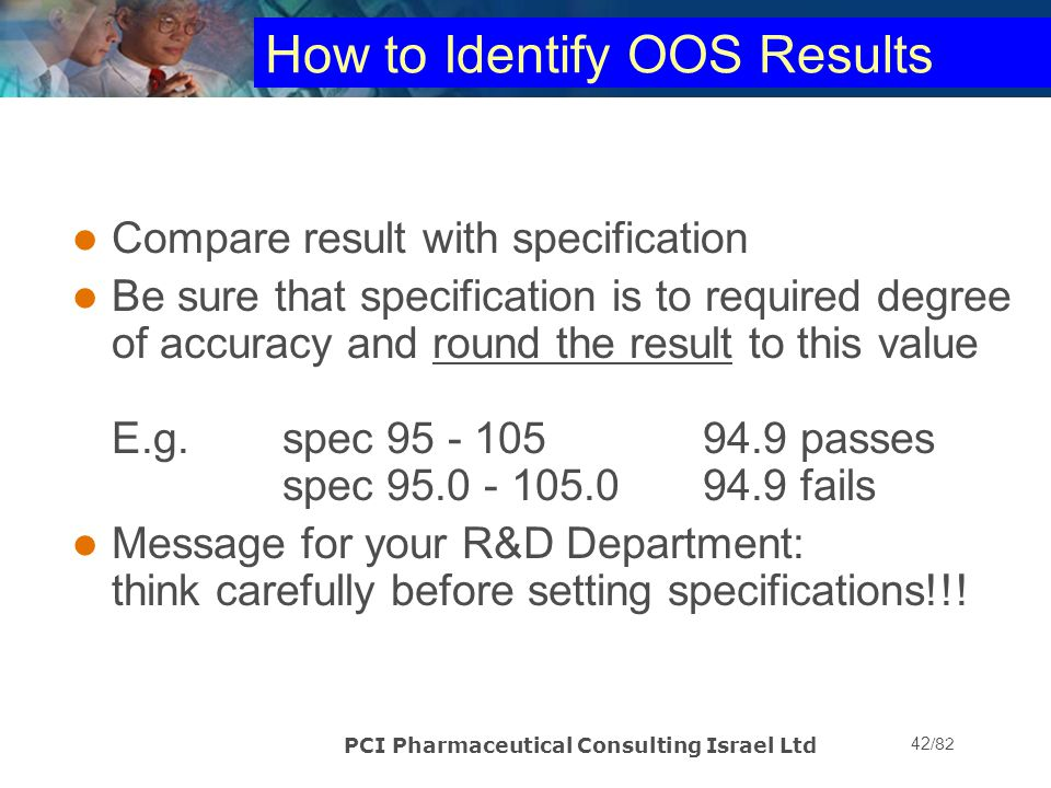 How to Identify OOS Results