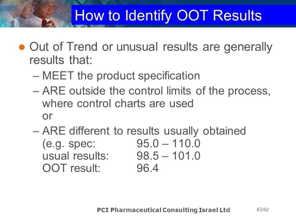 How to Identify OOT Results