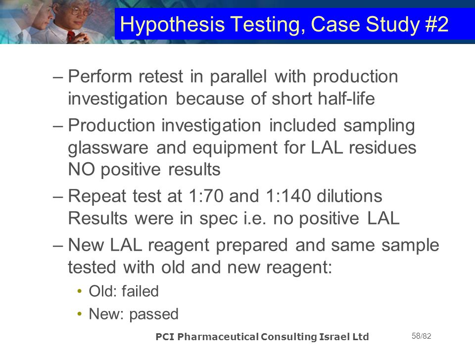 Hypothesis Testing, Case Study #2