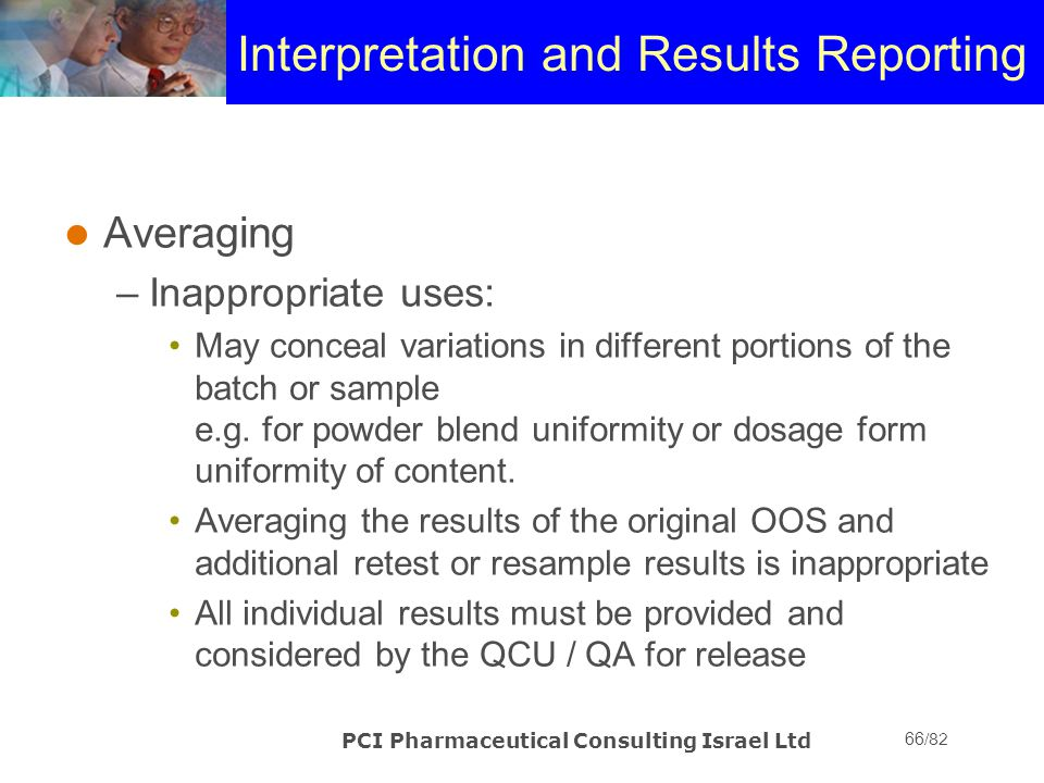 Interpretation and Results Reporting
