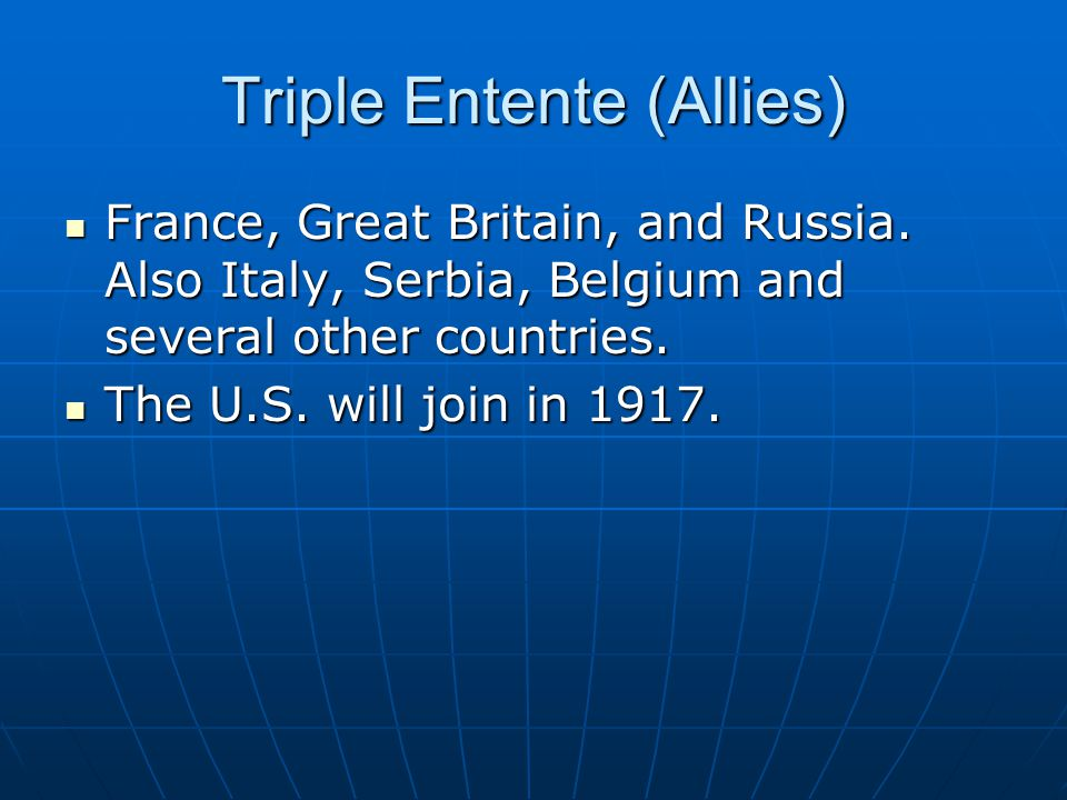 Triple Entente (Allies)
