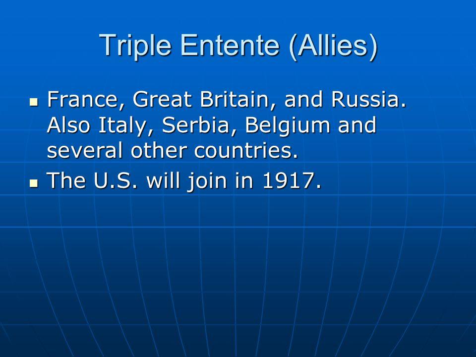 Triple Entente (Allies)