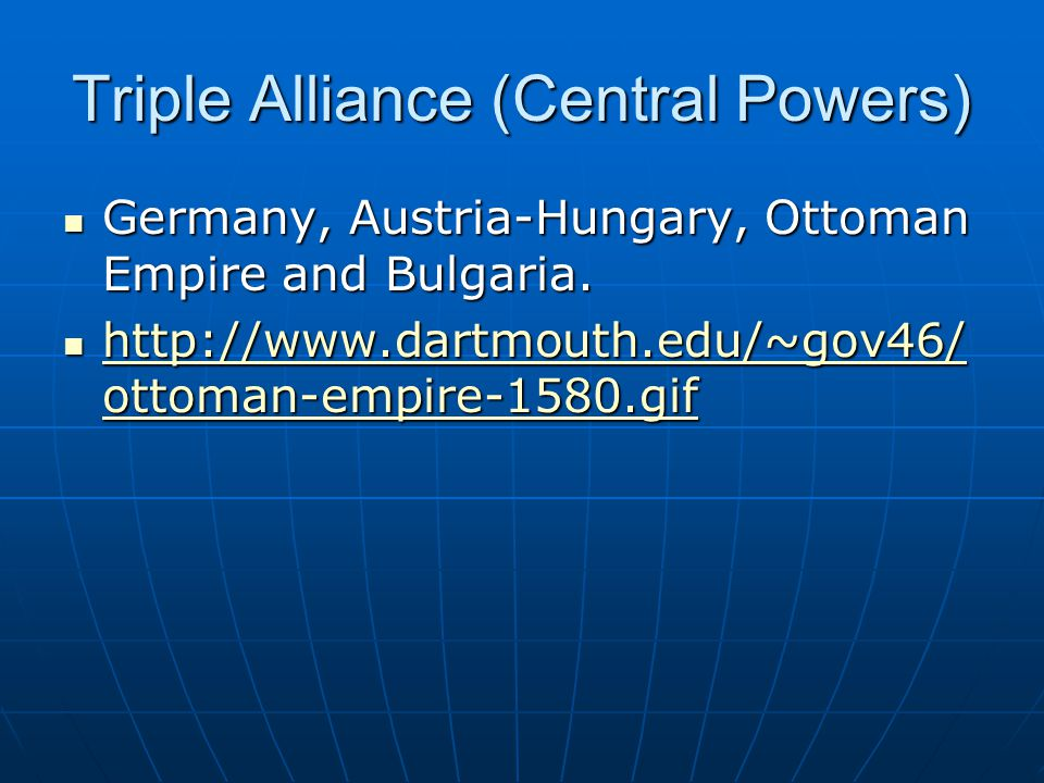 Triple Alliance (Central Powers)