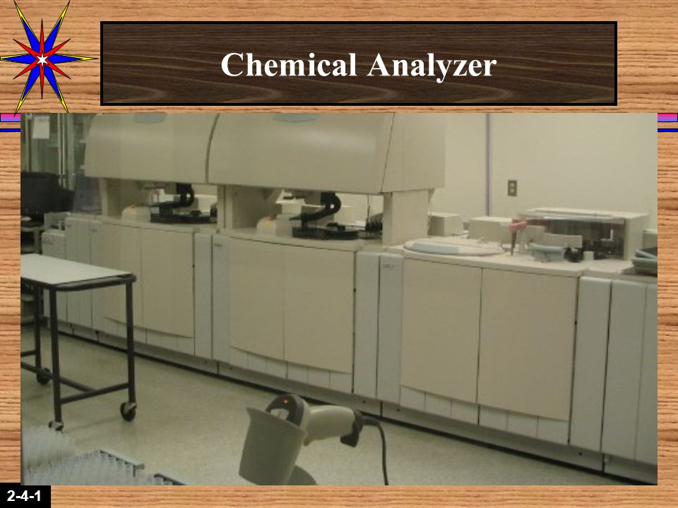 Chemical Analyzer Kinetic Interaction of Molecules in Solution