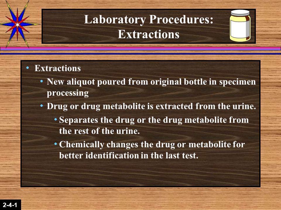 Laboratory Procedures: Extractions