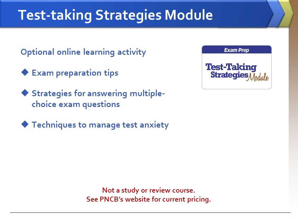 Test-taking Strategies Module