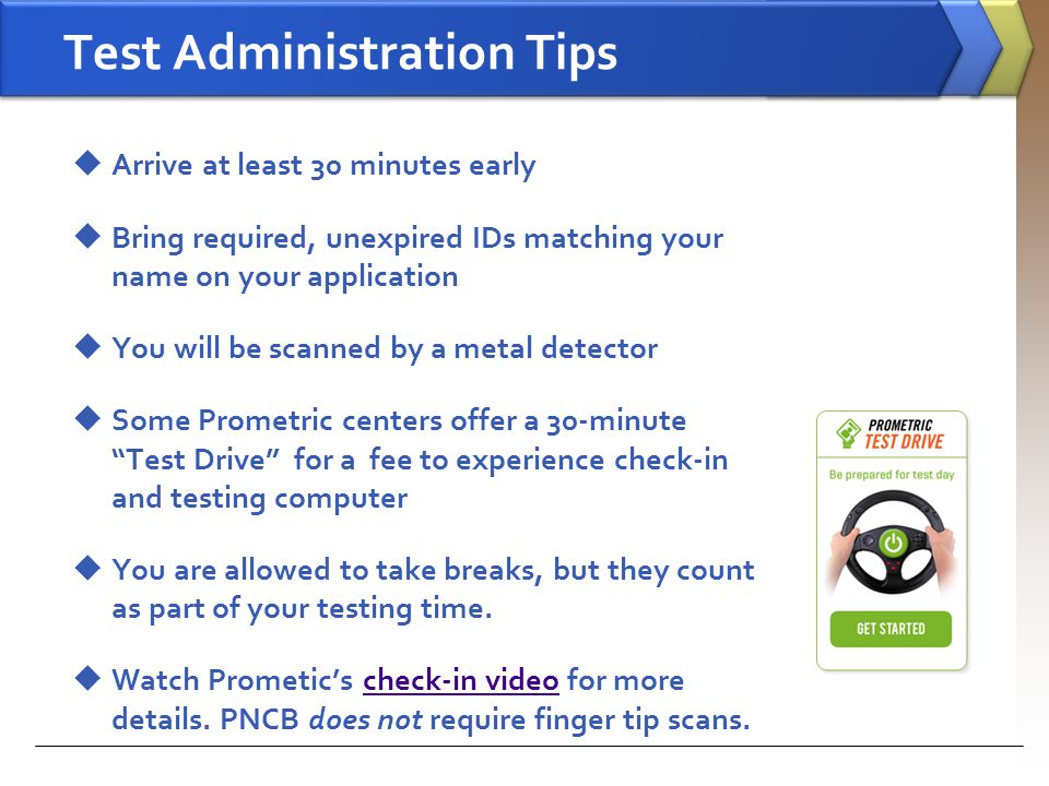 Test Administration Tips