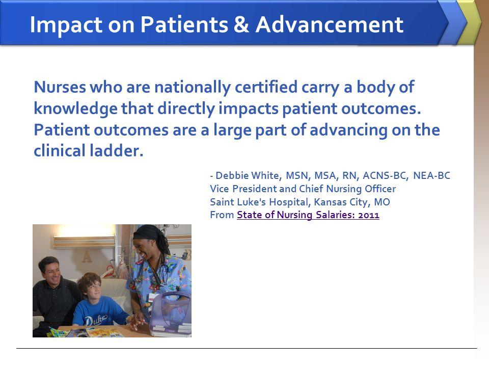 Impact on Patients & Advancement
