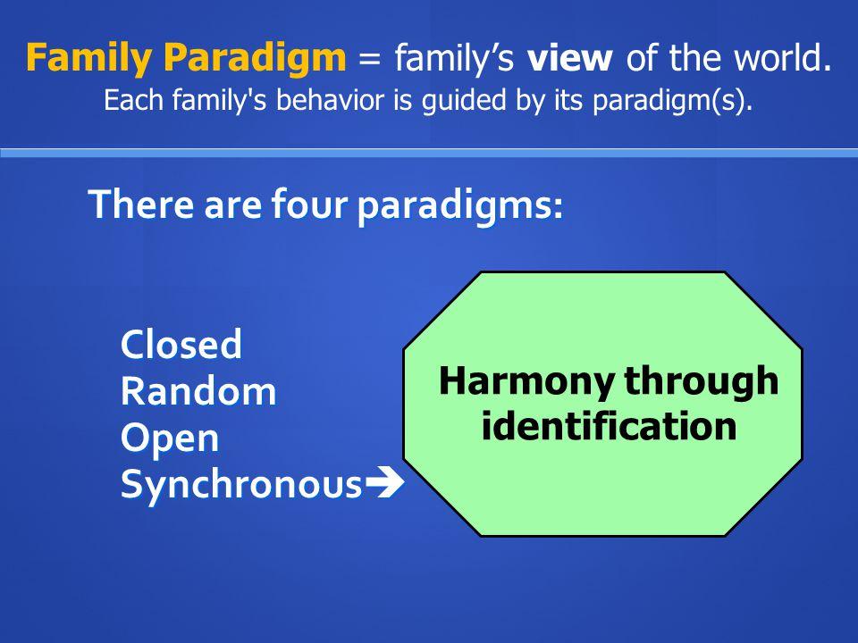 Harmony through identification