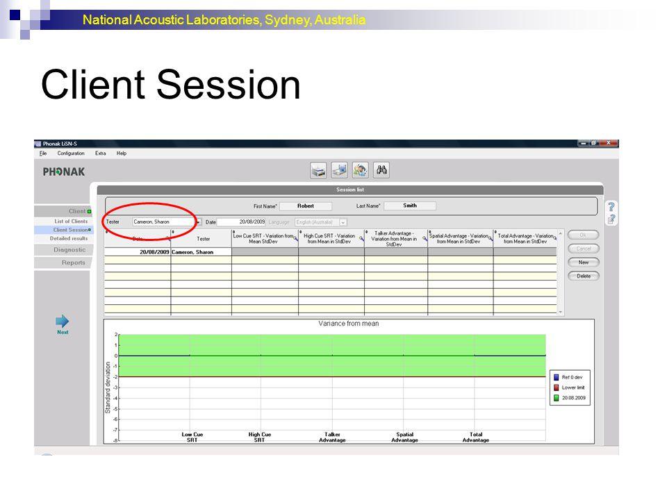 Client Session
