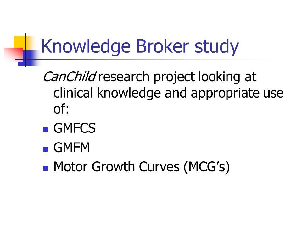 Knowledge Broker study