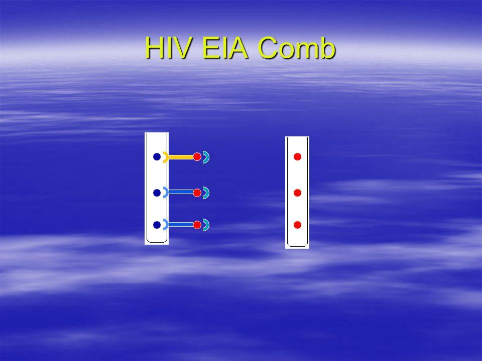 HIV EIA Comb