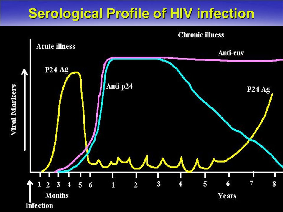 Serological Profile of HIV infection