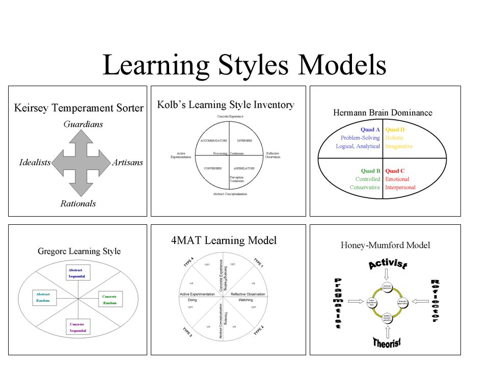 Learning Styles Models