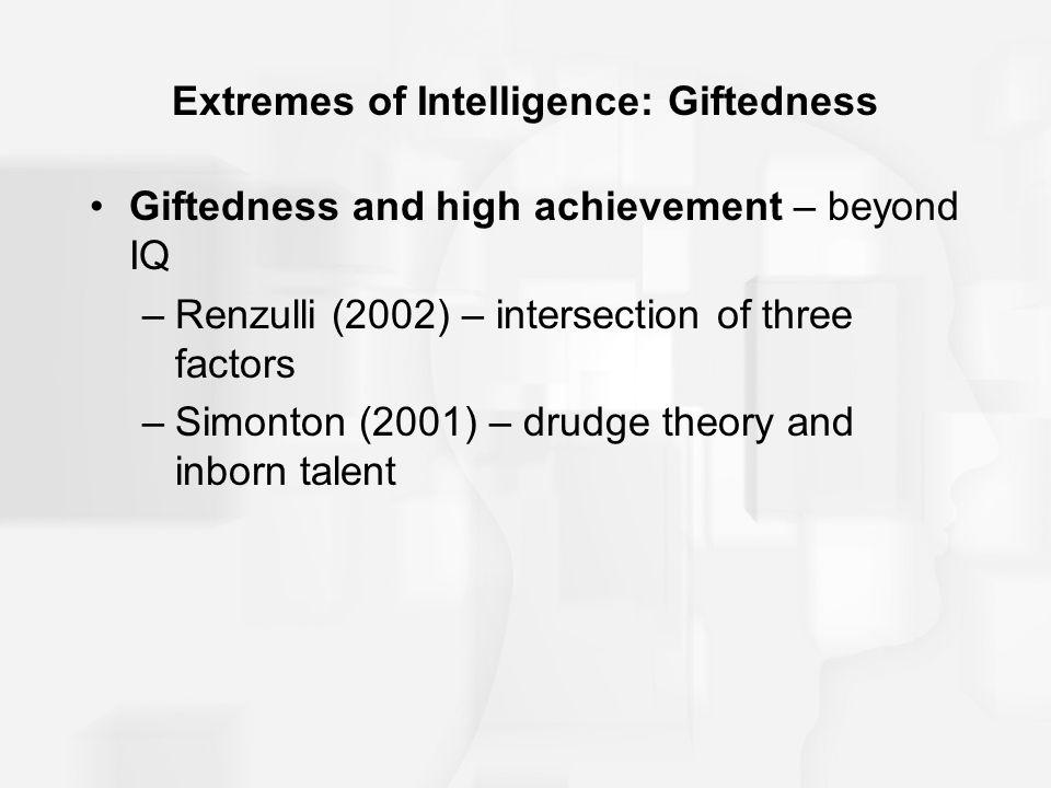 Extremes of Intelligence: Giftedness
