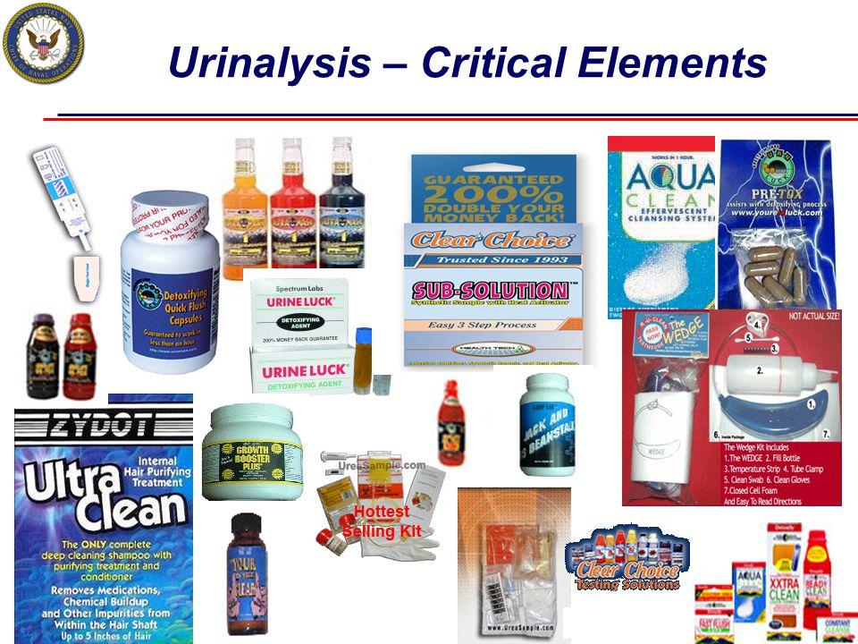 Urinalysis – Critical Elements