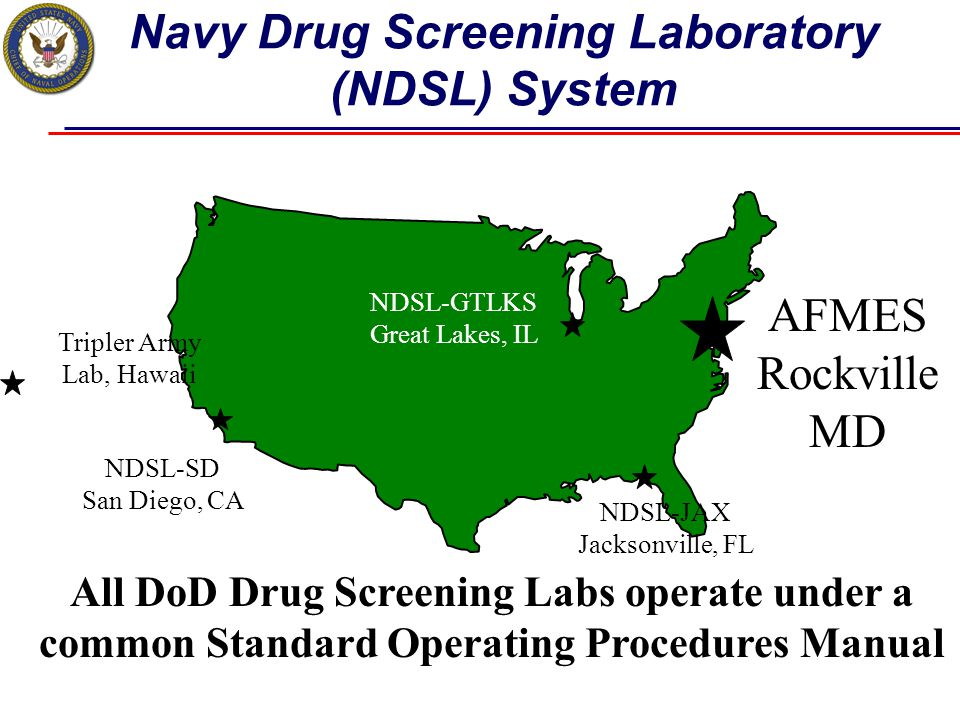 Navy Drug Screening Laboratory (NDSL) System