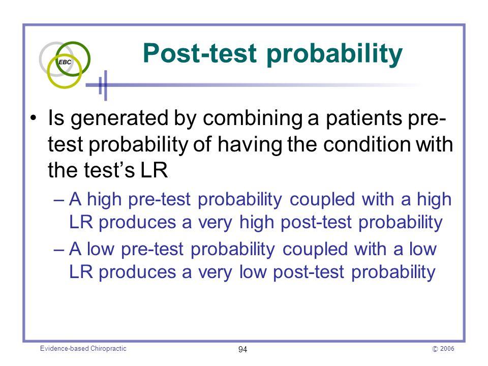 Post-test probability