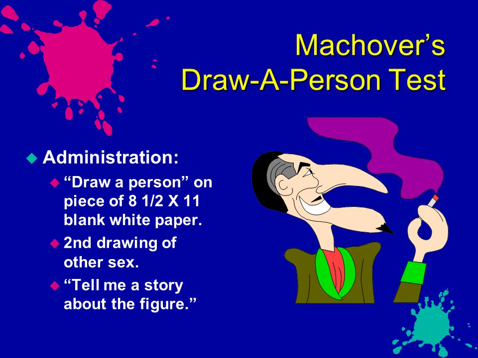 Machover's Draw-A-Person Test