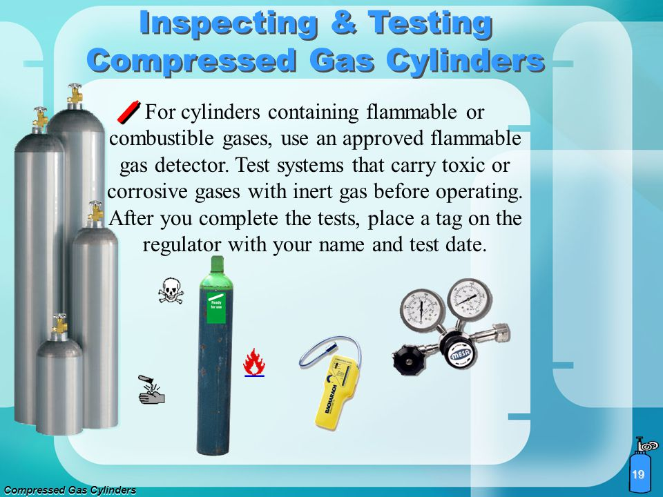 Inspecting & Testing Compressed Gas Cylinders