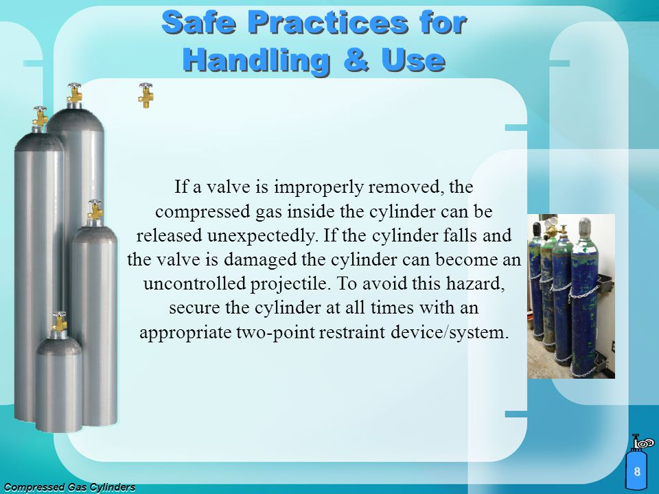 Safe Practices for Handling & Use