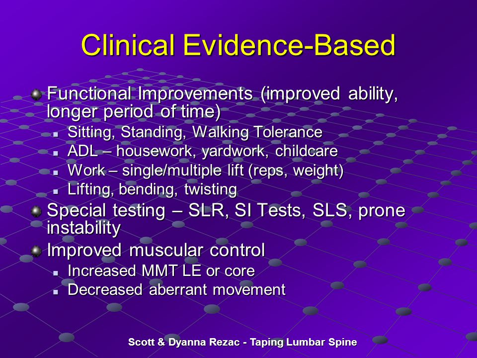 Clinical Evidence-Based