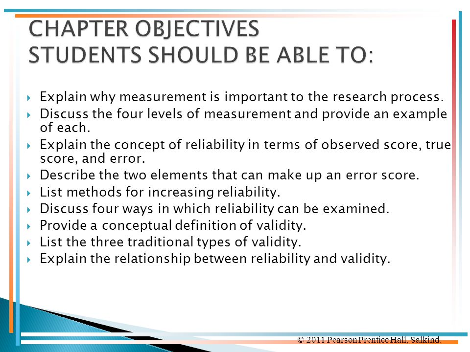 CHAPTER OBJECTIVES STUDENTS SHOULD BE ABLE TO: