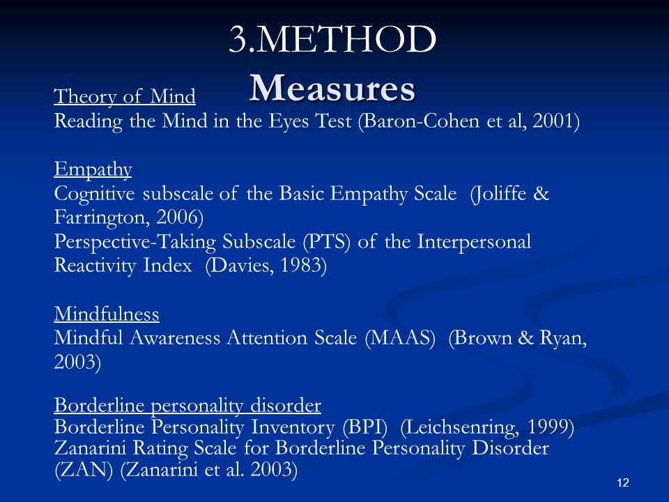 3.METHOD Measures Theory of Mind