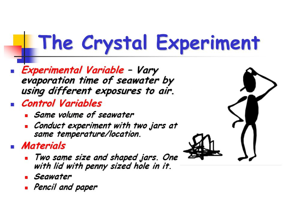 The Crystal Experiment