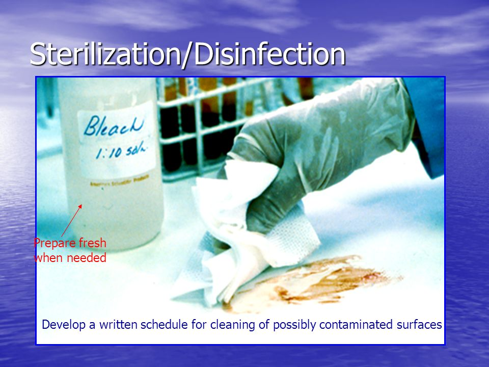 Sterilization/Disinfection