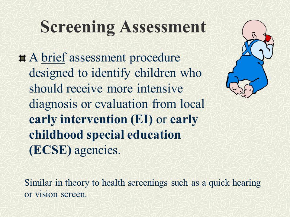 Screening Assessment