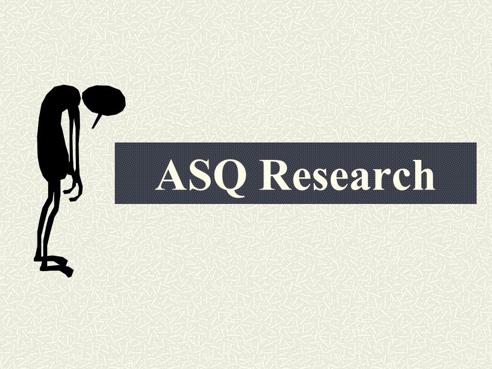 ASQ Research