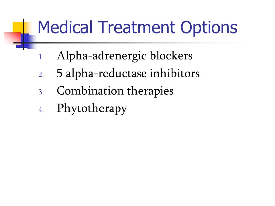 Medical Treatment Options