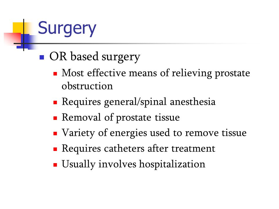 Surgery OR based surgery