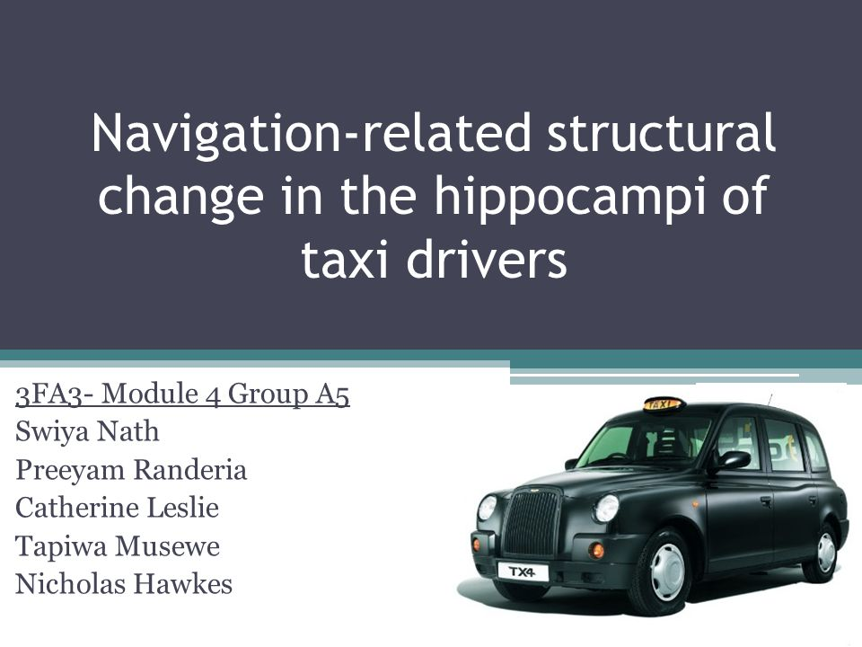 Navigation-related structural change in the hippocampi of taxi drivers