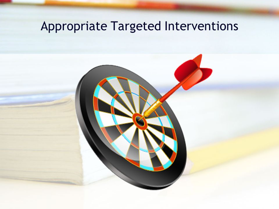 Appropriate Targeted Interventions