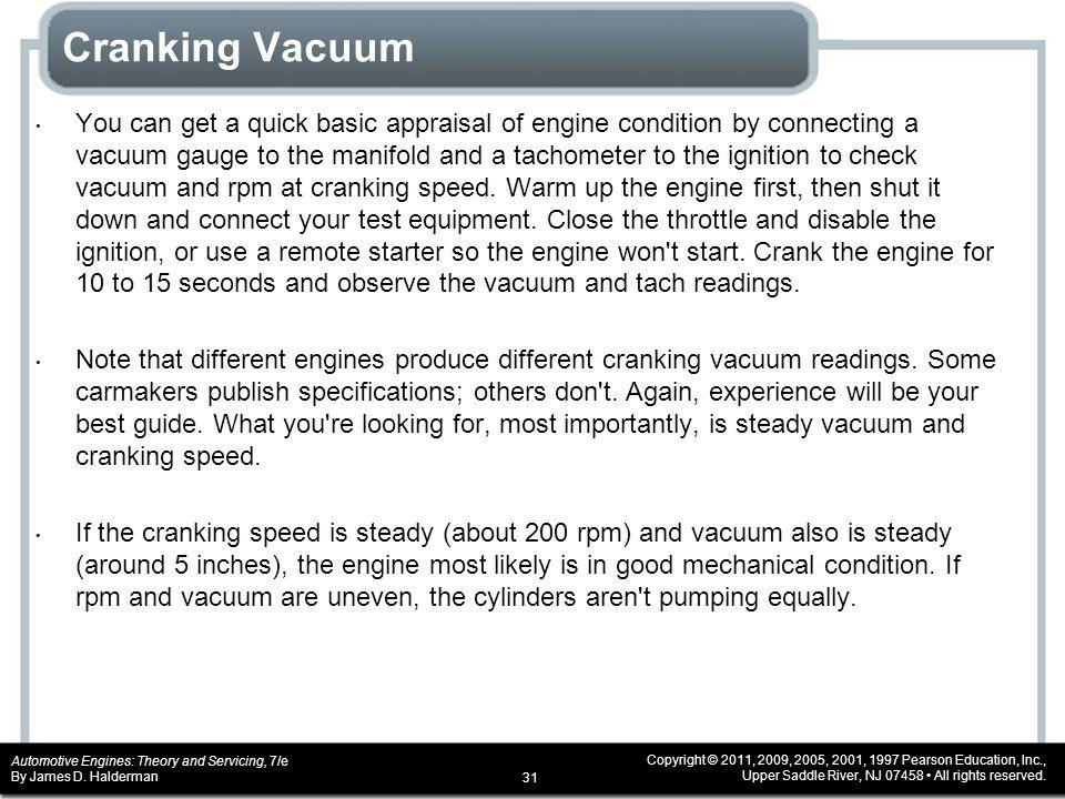 Cranking Vacuum